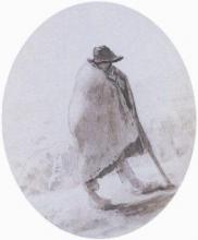 Millet, Pastore appoggiato sul suo bastone.jpg