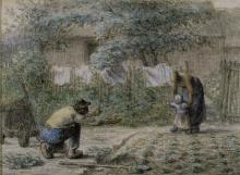 Millet, Primi passi [1858].jpg