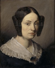 Millet, Ritratto di Augustine Fournerie, nata Dore.jpg