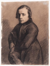 | Portrait d'Eugène Félix Lecourtois | Portrait of Eugène Félix Lecourtois