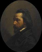 Jean-François Millet, Ritratto di Paul Francois Collot, mercante di novità   Portrait de Paul François Collot marchand de nouveautés
