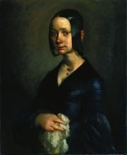 Millet, Ritratto di Pauline-Virginie Ono | Portrait de Pauline-Virginie Ono | Portrait of Pauline-Virginie Ono