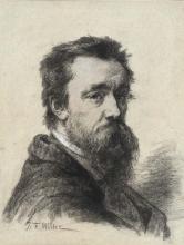 Millet, Ritratto di Victor Dupre, a mezzo busto.jpg