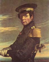 Millet, Ritratto di un ufficiale di marina [1845].png