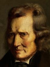 Millet, Ritratto di un uomo in redingote nera [dettaglio].jpg
