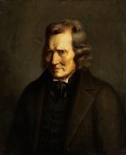 Millet, Ritratto di un uomo in redingote nera.jpg