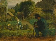 Millet, Scena di giardino.jpg