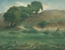 Millet, Strada attraverso i castagni, Cusset.jpg