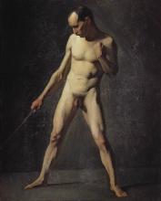 Millet, Studio di nudo maschile dal vero [1].jpg