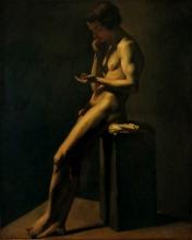 Millet, Studio di nudo maschile dal vero [2].jpg