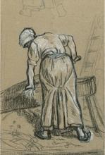 Millet, Studio di una donna che spezza lino.jpg
