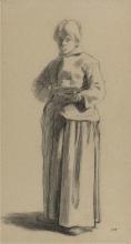 Millet, Studio di una donna con una tazza.jpg