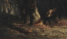 Millet, Taglialegna nella foresta.jpg
