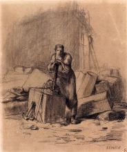 Millet, Un tagliatore di pietre.jpg