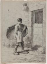 Millet, Uomo che porta un cesto per la spulatura del grano.jpg
