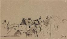 Millet, Veduta di Chailly en Biere.jpg