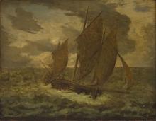 Millet, Veliero | Barque à voiles | Bark