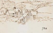 Millet, Villaggio nella campagna normanna.jpg