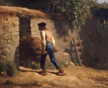 Millet, contadino con una carriola.jpg