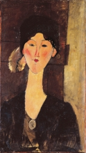 Modigliani, Beatrice Hastings davanti a una porta.jpg