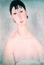 Modigliani, Busto di Elvira con la camicia abbassata.jpg