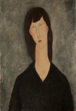 Modigliani, Busto di donna   Buste de femme   Bust of a woman   Busto de mujer