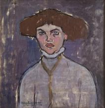 Modigliani, Busto di giovane donna [1].jpg