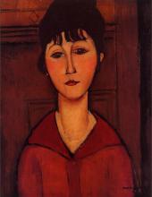Modigliani, Busto di giovane donna [3].png
