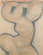 Modigliani, Cariatide (blu) I[].jpg