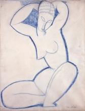 Amedeo Modigliani, Cariatide | Caryatid