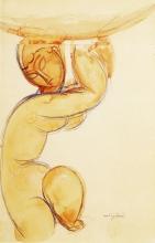 Modigliani, Cariatide [1912 circa].jpg