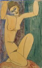 Modigliani, Cariatide [1913][6].png