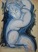 Modigliani, Cariatide [1913][7].png