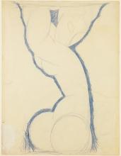 Modigliani, Cariatide | Caryatid