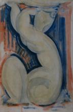Modigliani, Cariatide [1914][3].png