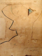 Modigliani, Cariatide dal seno a punta.jpg