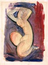 Modigliani, Cariatide rossa.png
