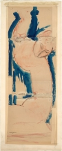 Modigliani, Cariatide, rosa e blu.jpg