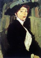 Modigliani, Donna con cappello.png