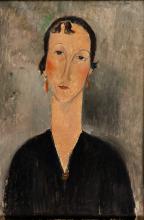 Modigliani, Donna con gli orecchini.png
