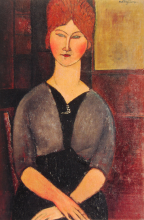 Modigliani, Donna con la parrucca.png