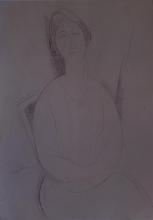 Modigliani, Donna con le mani in grembo.jpg