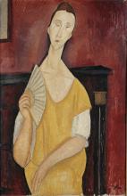 Modigliani, Donna con ventaglio (Lunia Czechowska).png
