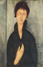 Modigliani, Donna dagli occhi azzurri.jpg