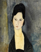 Modigliani, Donna dagli occhi neri.jpg
