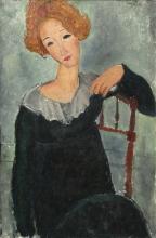 Modigliani, Donna dai capelli rossi [2].jpg