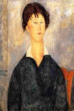 Modigliani, Donna dal colletto bianco [1].jpg