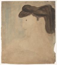 Modigliani, Donna di profilo.jpg