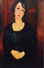 Modigliani, Donna in abito scozzese.jpg