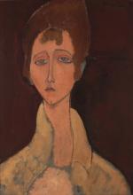 Modigliani, Donna in camicetta bianca.jpg